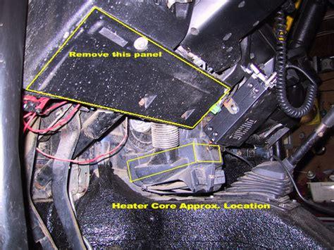 Suzuki Samurai Heater Samurai Cleaning Out The Heater Box Izook Suzuki 4x4