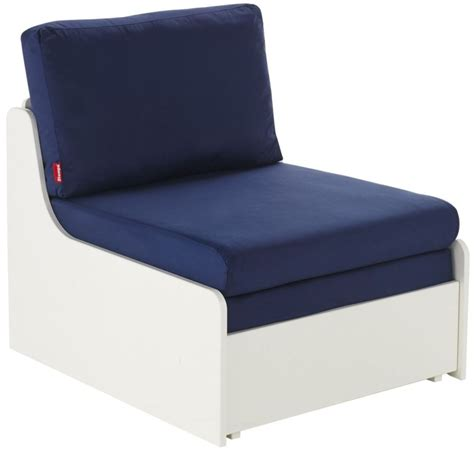 bed chairs buy stompa blue single chair bed online cfs uk
