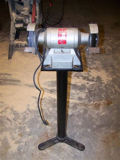 wissota bench grinder photo index wissota manufacturing co pedestal grinder