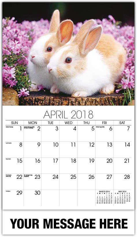 new year 2018 animal rabbit household pets and animals calendar 65 162 promotional