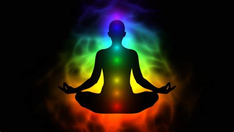 human aura meditation leading to the enlightenment and nirvana