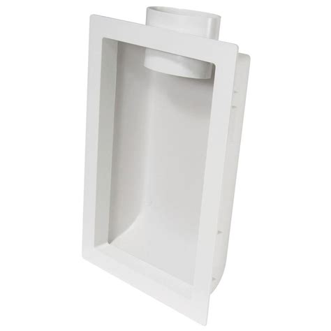 everbilt recessed dryer venting box dvboxpchd the home depot