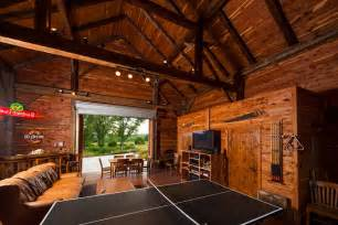Carriage House Building Plans garage man cave shed rustic with red brick wall round wall