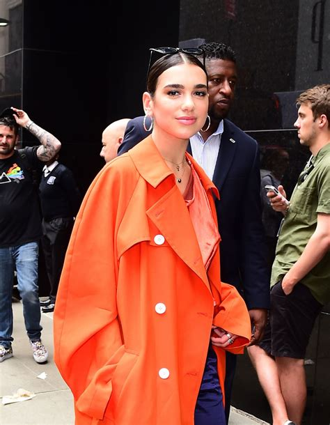 dua lipa kim dua lipa seen in new york celebzz celebzz