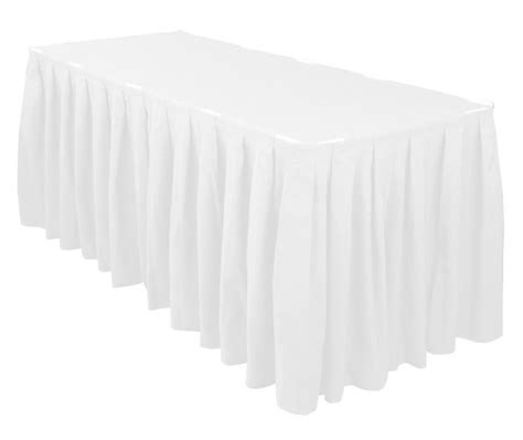 linen table skirts linen white table skirting events by design event rentals of oregon