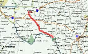 map of pecos day 17 to pecos tx