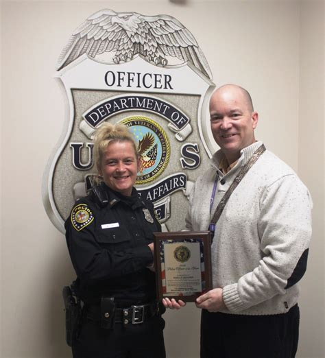 Us Department Of Veterans Affairs Records Martinsburg Veterans Affairs Officer Honored By