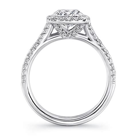 rings1s profile on imagefapcom uneek split shank halo diamond engagement ring lvs915
