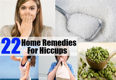 22 home remedies for hiccups treatments cure