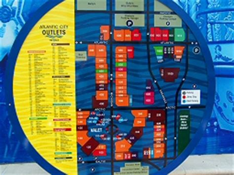 tanger outlet city map tanger outlets atlantic city shopping the walk
