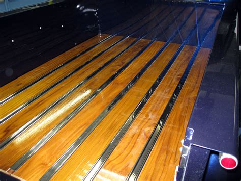 truck bed wood exterior
