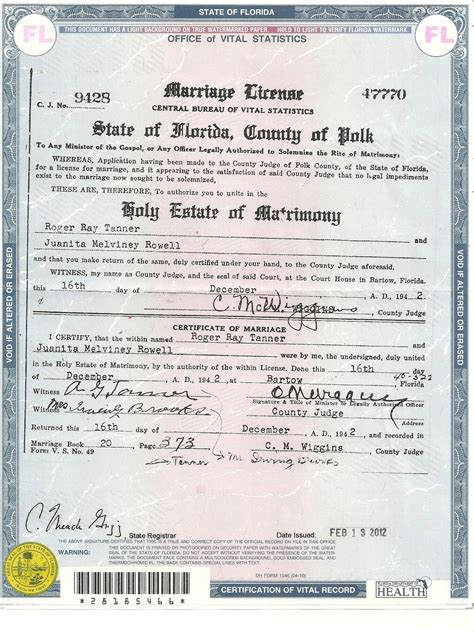 Florida Marriage Records Divorce Records Florida