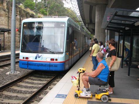 metro light rail sydney trevor s travels