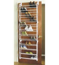 Door Hanging Shoe Rack by 36 Pair Over The Door Hanging Shoe Hook Shelf Rack Holder