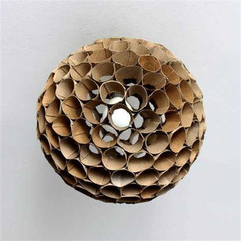 Toilet Paper Roll Chandelier Toilet Paper Roll Lshade Recyclart