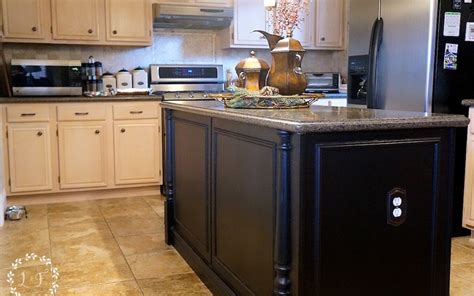 5 ways to fake a kitchen island infarrantly creative builder grade kitchen island upgrade lost found