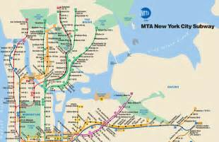 Subway Map Ny by Subway Maps Planyourcity