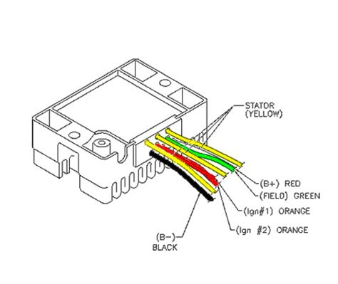 3 wire regulator rectifier wiring diagram get free image