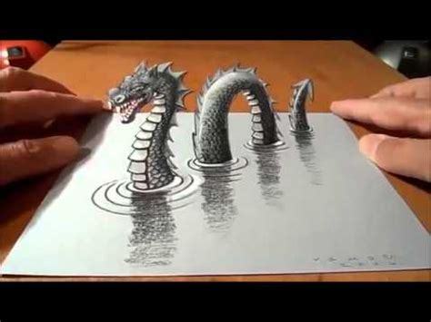 imagenes de step up 3d dibujo 3d de un dragon youtube