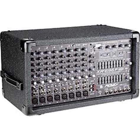 Mixer Friend peavey xr696f 2 x 600w 8 channel powered mixer musician s friend