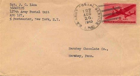 Dem Cp Khresna Army philaseiten de usa feldpost army post office apo vor und nach dem 2 weltkrieg