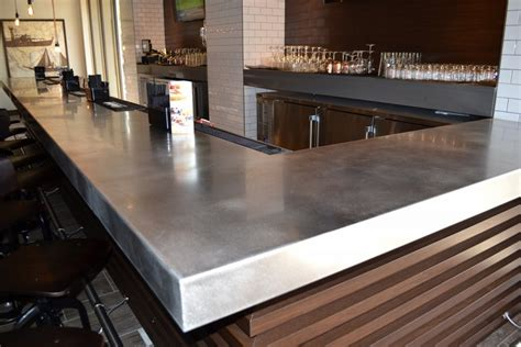 custom bar tops countertops custom metal home precision metal fabricators