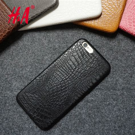Luxury Bumper For Iphone 6 6g 6s Iphone6 Apple Acc Casing for iphone 6 6s luxury crocodile snake print leather