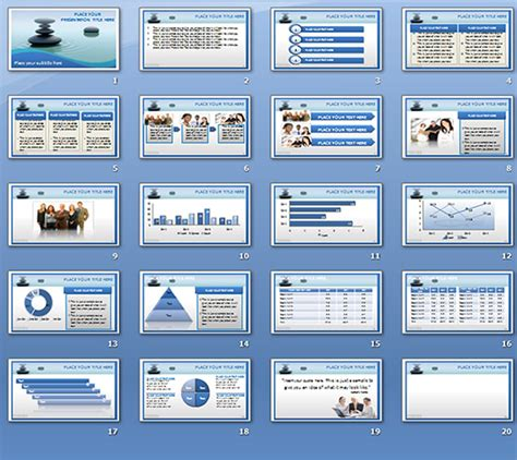 animated premium waterstone hd powerpoint template