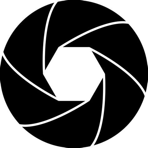 jalousie symbol free vector graphic diaphragm icon lens