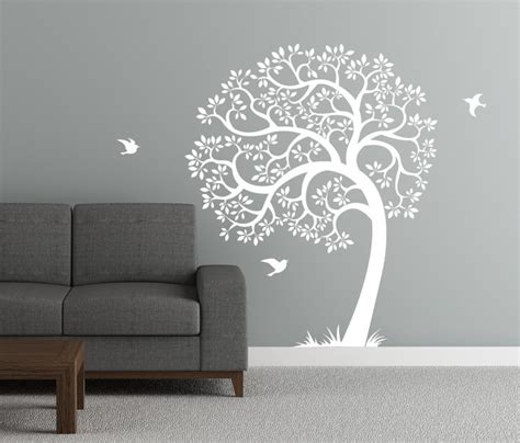 modern wall stickers singing tree wall decal contemporary wall decals by
