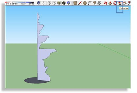 layout sketchup rotate how can you make yours fountain from cad to sketchup