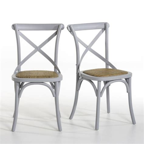 redoute chaise chaise humphrey lot de 2 am pm la redoute