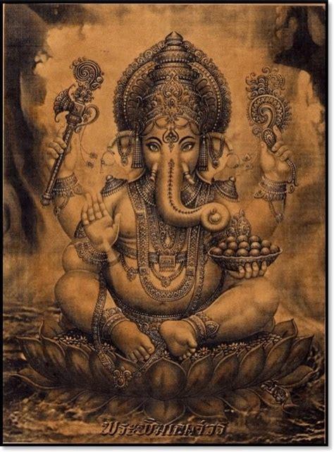 ganesha tattoo con significado stories of an elephant headed god