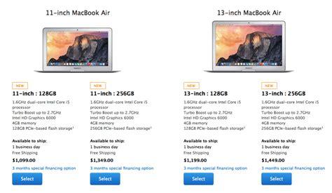 Apple Macbook Pro Di Indonesia apple refreshes 13 quot retina macbook pro macbook airs iphone in canada