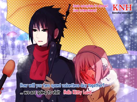Japanese Umbrella Meme - how will you two spend valentines day together by sasu