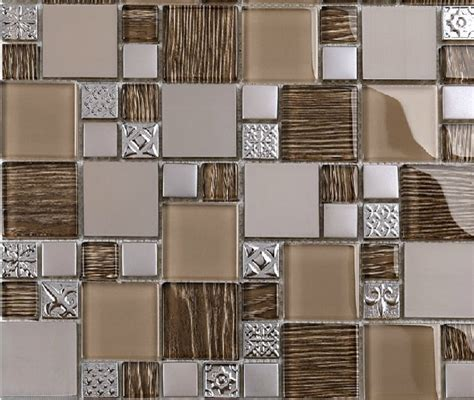 stainless steel mosaic tiles glass mosaic tile backsplash