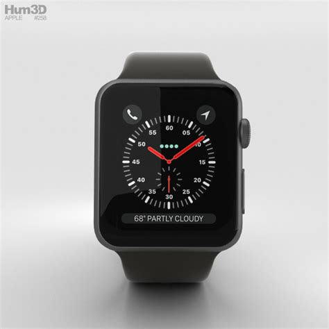 Apple Series 3 38mm Black Aluminium With Black Sport Bnib apple series 3 38mm gps cellular space gray