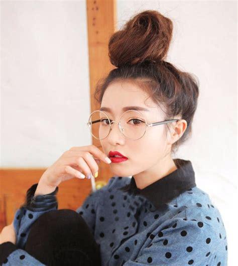korean framed glasses