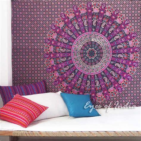 Tapisserie Violette by Simple Violet Tapisserie De Mandala 201 L 201 Phant Indien