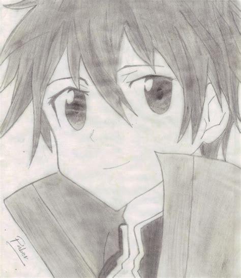 imagenes de anime tumblr sad art dibujos anime kirito sao sword art online