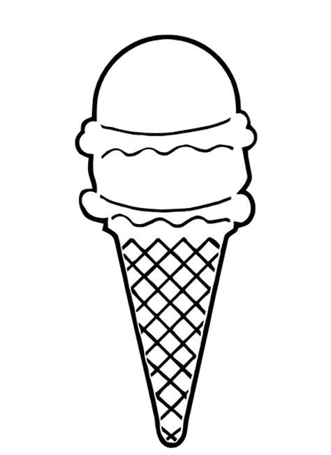 ice cream clipart black white clipartion