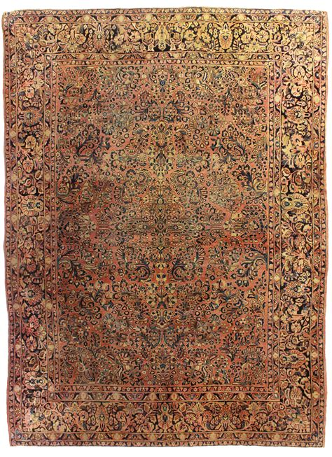 Antique Area Rug Antique Sarouk 8 X 12 Area Rug 14380 Exclusive Rugs