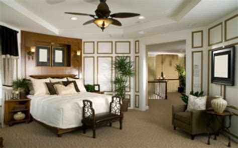 decorate bedroom with colonial style