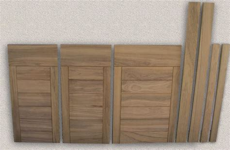 Outdoor Cabinet Doors doors outdoor kitchen custom teak marine woodwork