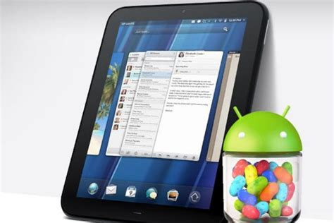 touchpad android nvidia tegra 4 android tablet coming from wait for it hp