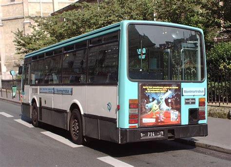 si鑒e de la ratp trans phototh 232 que autobus vanhool a508 ratp