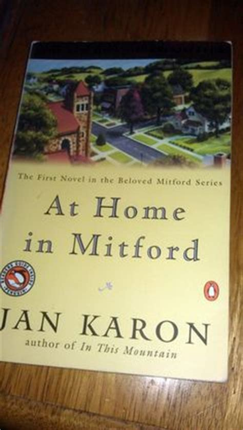 at home in mitford a mitford novel jan karon s mitford cookbook and kitchen reader products