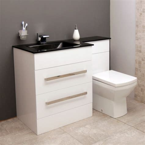 Vigo Left Hand Combination Unit Vigo Bathroom Furniture