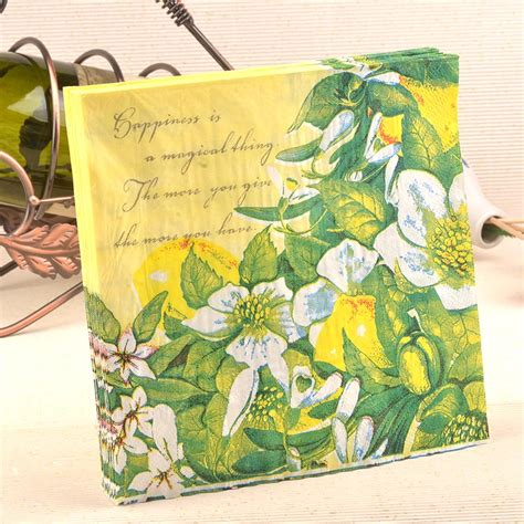 Napkin Tissue Decoupage 354 buy wholesale napkins from china napkins wholesalers aliexpress