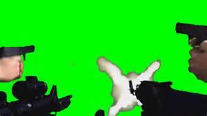 hd mlg guns shooting green screen free